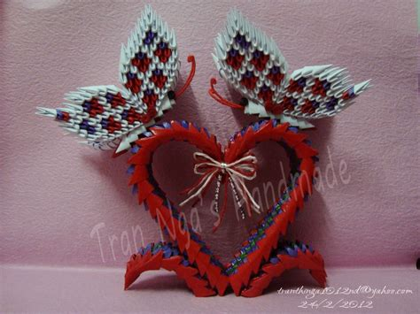 Origami Butterfly 3d - wedding jpg album nga 3d origami