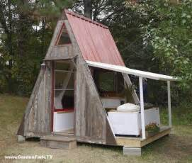Tiny A Frame House Plans by Tiny House Plans A Frame Vacation Cabin Gardenfork