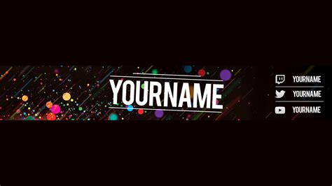 free youtube banner template slenderslay designs youtube