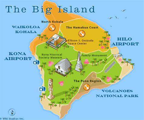 hawaii big island map hawaii travel travel guide to hawaii
