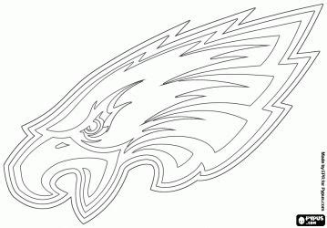 eagles coloring pages nfl our eagle in a coloring page eagle pride pinterest