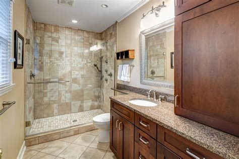 bathroom crown molding ideas traditional 3 4 bathroom with frameless showerdoor by