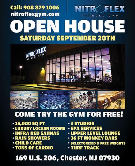 open house saturday open house saturday sept 20th nitroflex