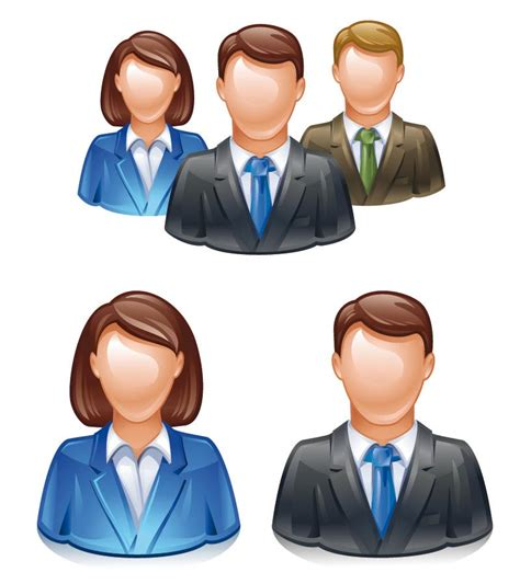 3D Avatar people icons