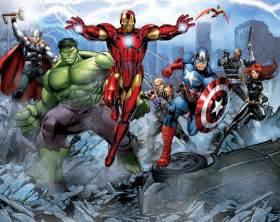 avengers assemble full wall mural