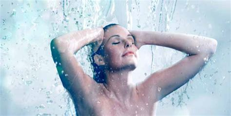 shower losing hot water choose cold water bath for healthier skin and hair