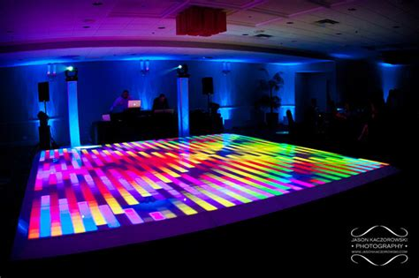 Light Up Floor by Chicago Dj And Light Up Led Floor Mdm Entertainment