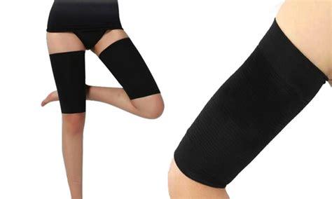 Insta Slim Compression Detox Thigh Wraps by Arm Or Thigh Compression Wraps Groupon Goods