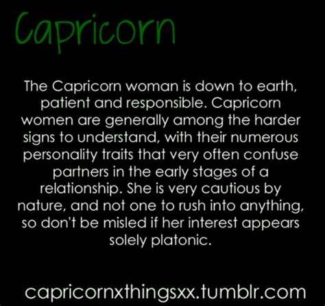 the capricorn woman is down to earth patient and