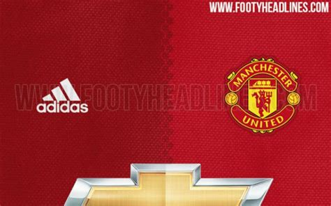 utd colors adidas to redesign united s kit in 2016 17