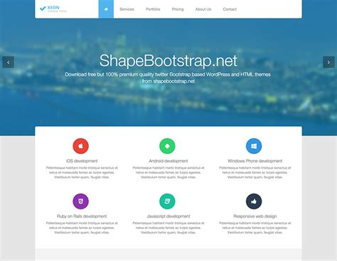20 Bootstrap Website Templates For Free Download Responsive Html5 Templates Free Bootstrap Website Templates