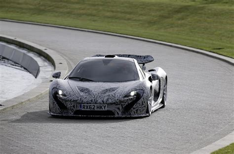 mercedes mclaren p1 mclaren p1 in camo turns up at f1 car debut autoevolution