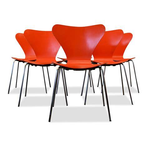 3107 Arne Jacobsen by Vintage 3107 Arne Jacobsen Stoelen 6 Vintage Vibes