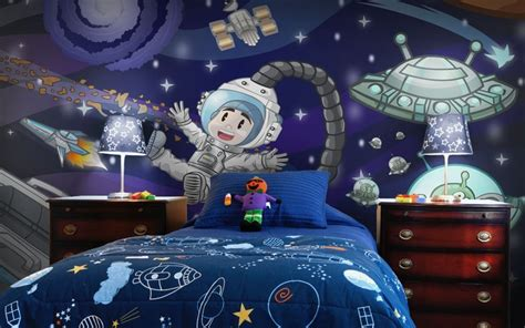outer space bedroom wallpaper 7 best images about boys wallpaper murals on pinterest