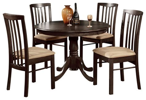 traditional kitchen table sets 5 pc kitchen table set table table and 4 dining