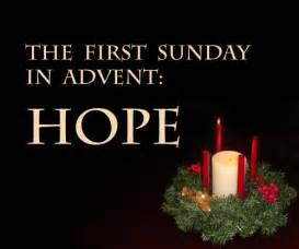 Go back gt gallery for gt first sunday of advent hope