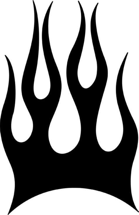free flame templates coloring pages