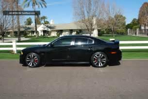2012 dodge charger srt8 black on black