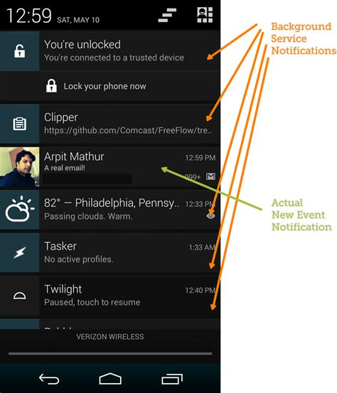 android layout change event android wishlist a different notification ui for
