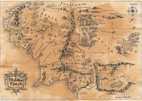 middle earth map tattoo image result for map of middle earth tattoo inspirations