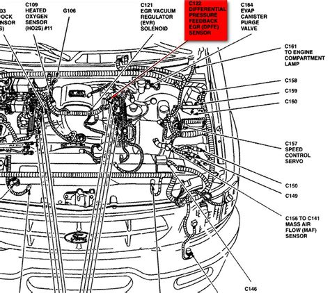 ford part diagrams 2001 ford f150 parts diagram