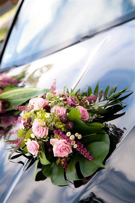 Hochzeit Autoschmuck by Hochzeit Autoschmuck Rosa Gro 223 E Bildergalerie