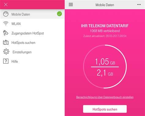 telekom apps telekom telekom online manager hotspot nutzung jetzt auf 5