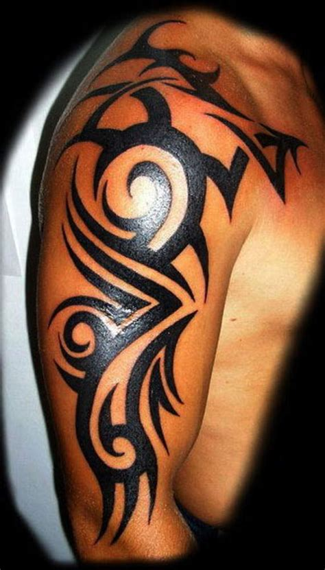 mens tribal tattoos on shoulders and arms 100 topmost arm tattoos for guys and