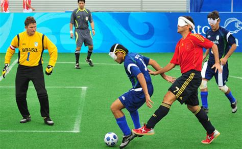 Blind Soccer blind soccer at the paralympics looks like the hardest the 91st minute soccer