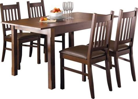 Cucina Dining Table Hygena Cucina Extending Dining Table And 4 Chairs Walnut