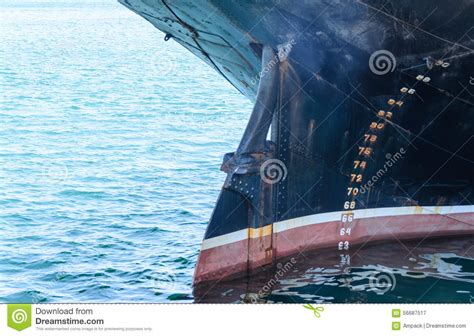 ship keel bow and keel of a large ship stock photo image 56687517