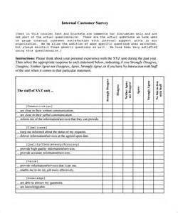 customer satisfaction report template sle customer satisfaction survey template 8 free