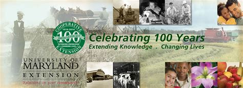 umd service of maryland extension celebrates 100th anniversary umd right now