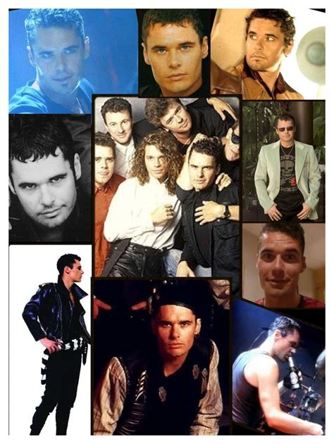 inxs biography movie jon farriss collage inxs michael collages pinterest