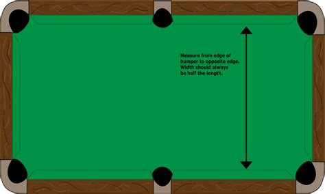 pool table sizes room requirements everything billiards spas