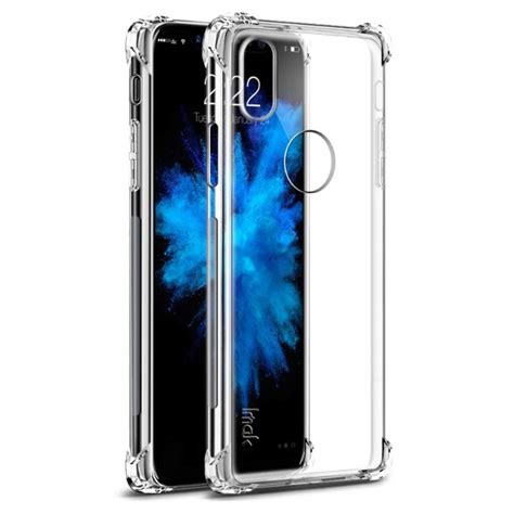 Anticrack Iphone imak anti tpu silicone softcase for iphone x