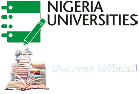 list   engineering courses offered  nigerian universities