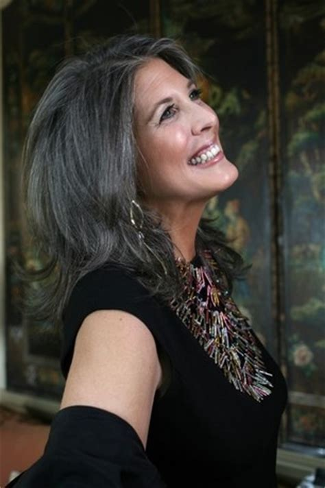 tame gray hair that sticks up joan hornig jewelry designer 58 absolutely gorgeous