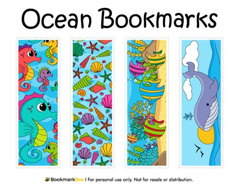 Punch Home Design Templates Download Printable Ocean Bookmarks