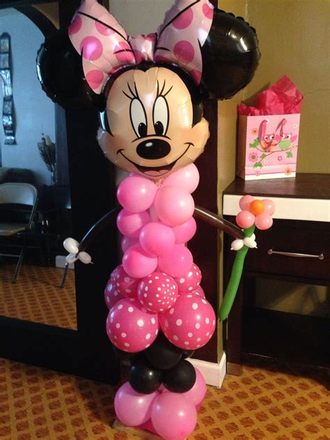 Minnie Mouse Balloon Decoration by 17 Best Images About Mickey Y Minie Mouse On