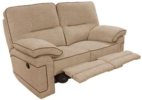 2 seater recliner fabric sofa buy buoyant plaza 2 seater fabric recliner sofa online