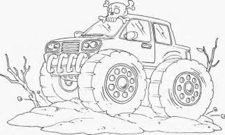 kidscolouringpages orgprint amp download bigfoot monster truck coloring pages