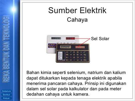 Solar Calculator Kalkulator Menggunakan Cahaya Matahari elektrik