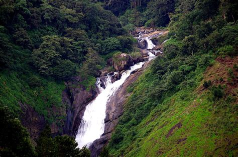 visit  roaring attukal waterfalls  munnar   rains