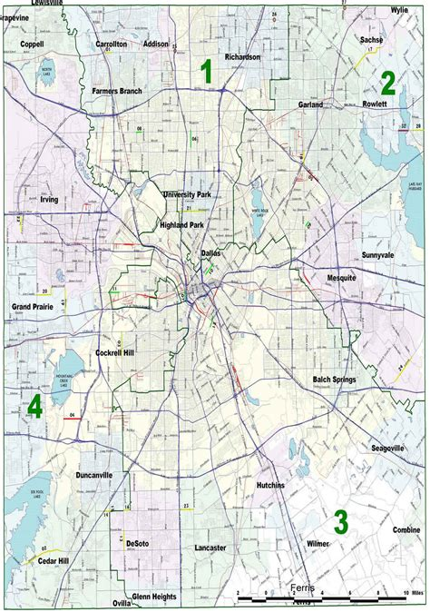 dallas county texas map april dallas county foreclosure map