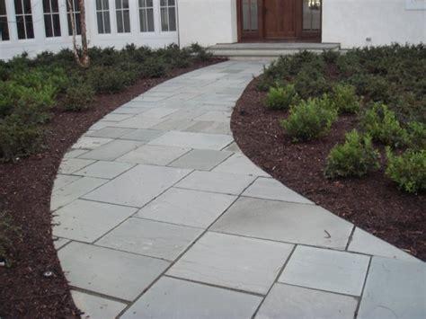 pa bluestone flagstone hardscape patio design