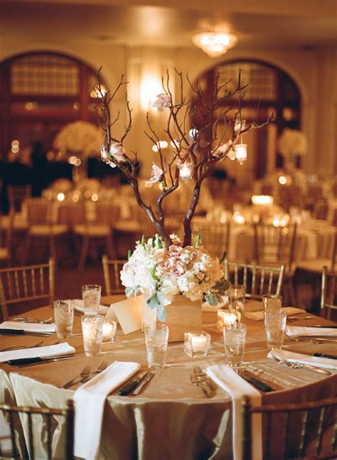 floral branches centerpiece square floral reception centerpiece with tall branches