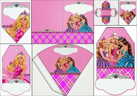 free printable barbie birthday decorations barbie princess charm school free party printables is