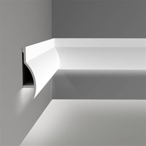 Lightweight Cornice C372 Fluxus Uplighting Cornice Wm Boyle Interior Finishes