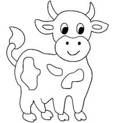 free coloring pages of word cow
